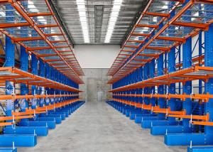 China Warehouse and Industrial cantilever racking systems on sale