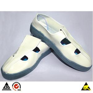 China Chaussures conductrices de PVC de visage de papillon d'ESD à l'utilisation de sécurité de Cleanroom et à la protection antistatique de personnel on sale