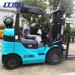 4.5 M Triplex Mast Gasoline Forklift Truck Material Loading Equipment 2.5 Ton