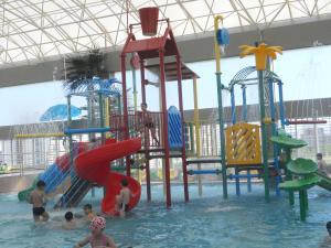 China Indoor Kids Water Playground Equipment , Aquasplash Water Park on sale