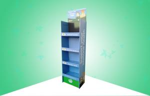 China Medicine Cardboard Pos Displays Stand Strong Design Glossy Finish With 4 Shelves on sale