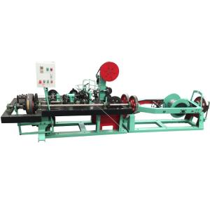 China Commom Twist Barbed Wire Machine With Automatic Electrol Control System on sale