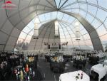 New Product Luxury Dome Tent for Wedding with Lighting and Cooling