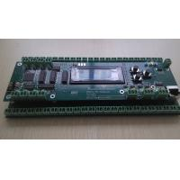 UL industrial control PCB assembly with leds connectors RJ 45 display module