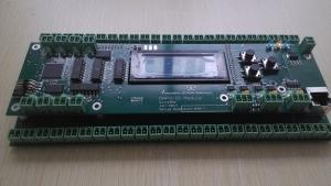 China UL industrial control PCB assembly with leds connectors RJ 45 display module on sale
