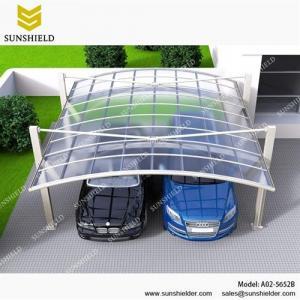 China Aluminum Carport Covers for 2 Cars/A02-5652B/Aluminum carport/Gazebos & Canopies on sale