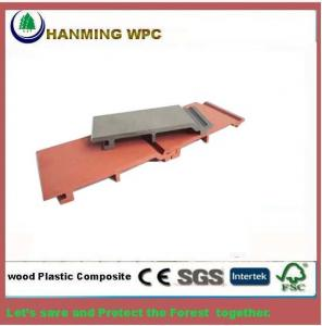 China 156x21mm WPC Composite Wall Panel or WPC wall cladding from Changxing Hanming Technology Co.,LTD on sale