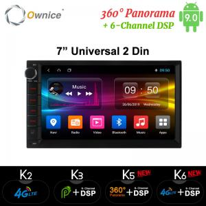 China Ownice  Android 9.0 Octa Core 2 din Universal For Nissan Car Radio Stereo Audio Player (No DVD) Build-in 4G on sale