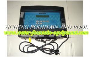 China Black Automatic Swimming Pool Control System For Testing PH And ORP on sale