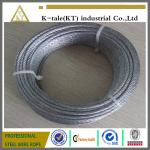 promotional price suitable for Marine Hardware 304 stainless steel wire rope