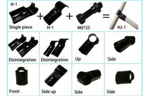 Quality Flexible Black Metal Pipe Connectors for sale
