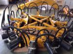 machine maximum de coupeur de pile de pression de 280kn Rod, coupeur hydraulique de pile de course de foule de 135mm