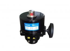 China Plumbing Power ON / OFF Motorised Valve Actuator By  50Nm - 1000Nm Torque on sale