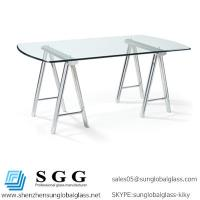 Excellence quality desks glass top