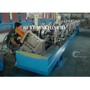 China Half Round Water down Gutter Profile Cold Roll Forming Machine on sale