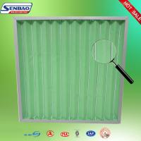 Air Conditioner Pleated Pre Air Filters Industrial Air Handling Unit