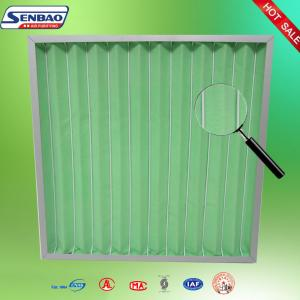 China Air Conditioner Pleated Pre Air Filters Industrial Air Handling Unit on sale