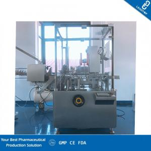 China ZH-120D Automatic Cartoner Fit Blister Strip With Auto Blister Cartoner on sale