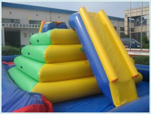 China inflatable water climber 0.9mm PVC tarpaulin 5*4.3*2.5m on sale