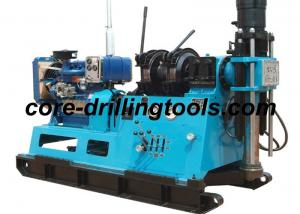China Large Diesel Power Core Drilling Rig Mineral Exploration Drilling Rigs on sale