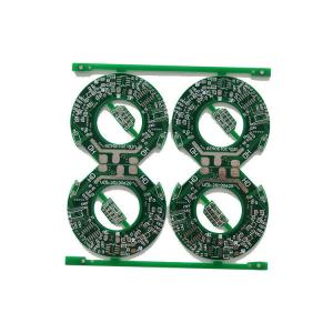 China FR4 HTG Material Multi Circuit Boards 4 Layer Blind Via Holes Pcb 2 Years Guarantee on sale