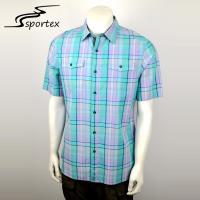 Premium Quality Mens Short Sleeve Shirts 100 Cotton Plain Dyed Technics