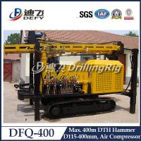 DFQ-400 DTH impacter water well drilling machine for rock area, 400m DTH Drilling Rig for Sale
