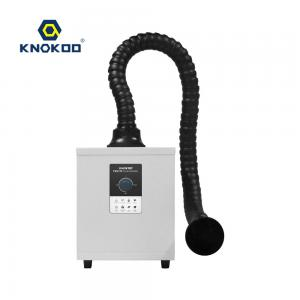 China KNOKOO 150W Knob Adjustment Mini Style Fume Extractor FES150 Single Channel Smoke filter Laser Beauty Extraction on sale
