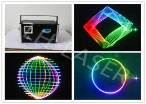 China Full Color DMX Wireless Analog 3W RGB Laser Light Multi Patterns Effect on sale