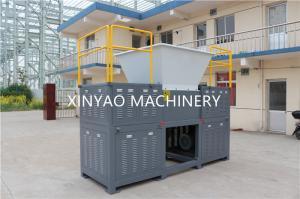China Wood Pallets Automatic Plastic Shredder Machine , Four Shaft Shredder on sale