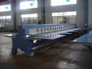 China Dahao のサーボ モーターを搭載する 10 インチのモニターのシュニールのチェーン ステッチの刺繍機械 on sale