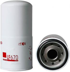 China Auto parts oil filter Brand new Engine parts Truck Lube Spin On Oil Filter LF670 on sale