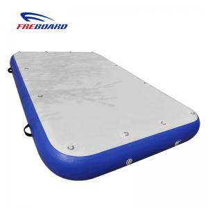 China Inflatable air platform sup dock water platform ship maintenance mat air floor on sale