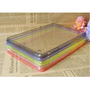 China Dustproof Green Apple iPad Protective Case , Clear TPU / Acrylic iPad Mini Retina Protection Cover on sale