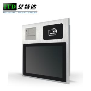 China IP65 Embedded Touch Screen Rugged Panel Computer For Kitchen Easy To Clean on sale