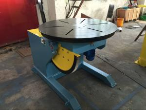 China Motorized Rotating / Tilting Rotary Welding Turning Table For 2 Ton Rated Load Cap on sale