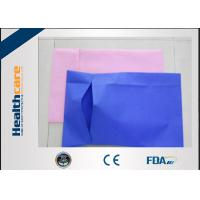 China Custom Disposable Pillow Covers Waterproof Pillow Cases For Hospital Or Hotel Use on sale