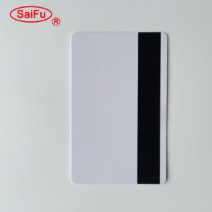 China High quality magnetic stripe inkjet pvc card for membership cards on sale