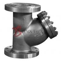 A351 CF8M 300LB Y Type Strainer , Stainless Steel Y Strainer Flange Type
