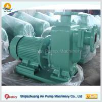 corrosion-resisting self priming sewage pump