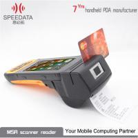 Orange Windows Wireless PDA Thermal Printer 4.5 Inch High Definition IPS LCD