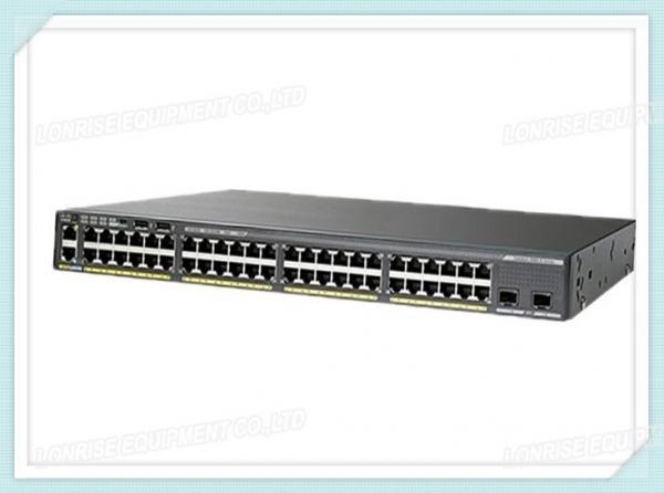Cisco Fiber Optic Switch WS-C2960XR-48FPD-I 48 GigE PoE 740W
