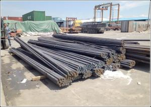 China Die Steel Round Bar Stock ,  Smoothly Surface 8 mm Dia JIS SS400 Carbon Steel Rod on sale