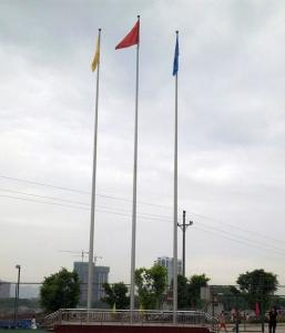 China 8m 9m Length Tapered Flag Telescoping Fiberglass Pole on sale