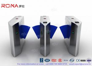 China ZK Access Optical Swing Gate Turnstile / Controlled Access Flap Berrier System on sale
