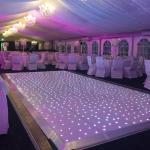 led digital dance floor led dance floor black