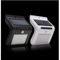 Waterproof Solar Powered Sensor Garden Lights Integrated Design