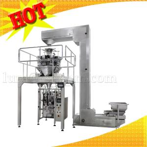 China Multi Heads Weighing Function Popping Corn Packing Machine on sale
