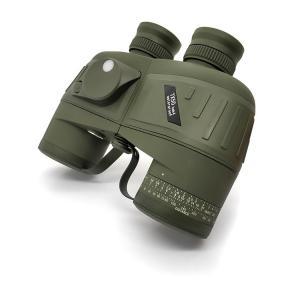 China 10x50 Waterproof Binoculars With Internal Rangefinder Directional Compass on sale