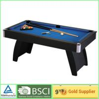 Foosball football game table / 15mm MDF bedplate with blue billiard cloth